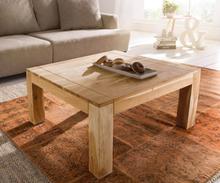 DELIFE Salontafel Indra acacia natuur 80x80 cm massief hout
