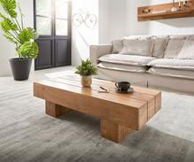 DELIFE Salontafel Harri 115x45 cm acacia natuur massief hout