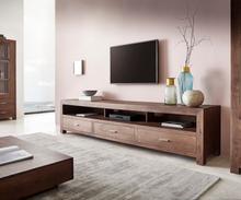 DELIFE Tv-meubel Indra 240 cm acacia bruin 3 laden 3 vakken