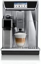 DELONGHI ECAM 650.75.MS Automatisk espressomaskine med slibemaskine PrimaDonna Elite - Rustfrit stål