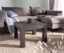 DELIFE Deco-tafel Indra acacia platina 60x60 vierkant massief hout vierkant