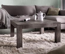 DELIFE Salontafel Indra acacia platina 80x80 cm massief hout