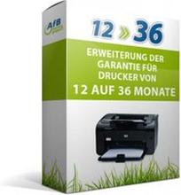 Erweiterung der Garantie für Drucker von 12 auf 36 Monate