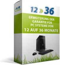 Erweiterung der Garantie für PCs von 12 auf 36 Monate