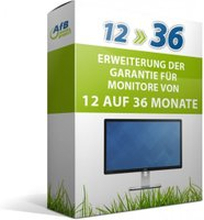 Erweiterung der Garantie für TFTs von 12 auf 36 Monate