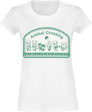 Animal Crossing - Characters - T-shirt - vit