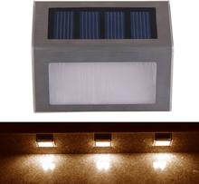 Solcellslampa för räcke / trappa