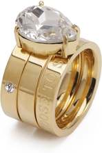 Bud To Rose - Blaze Ring S, Clear/Gold