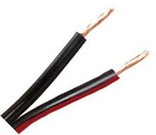 Kabel RKUB 2x0,75 för LED, löpmeter