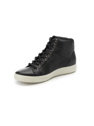 Sneakers 'Soft 7' Fra Ecco sort - Peter Hahn