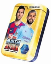 Fotbollskort Champions League 19-20 - Mini Tin med 42 kort