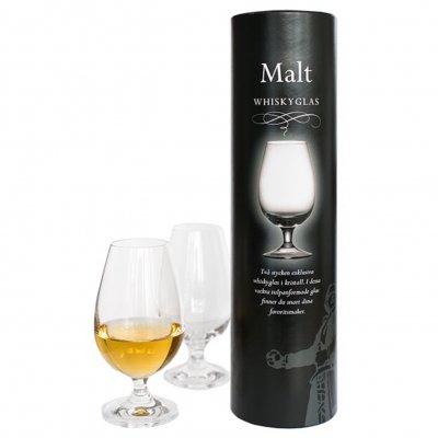 Malt whiskyglas 2-pack i rör