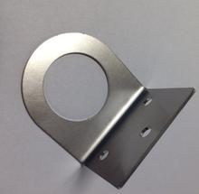Luftknapp-holder i rustfritt stål til kjøkkenkvern