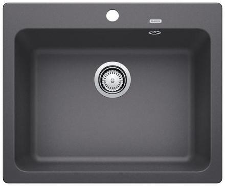 Blanco Naya 6 UX Køkkenvask 61,5x51 cm, Silgranit, Klippegrå