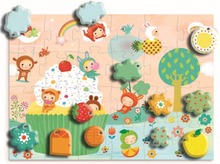 Djeco - Giant Puzzle - The Cake