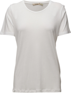 Vanya T-shirts & Tops Short-sleeved Hvit WHYRED
