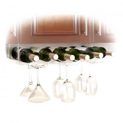 Glas- och vinrack för väggmontering