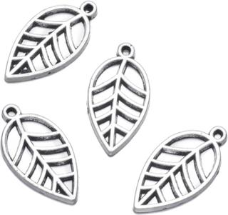 Smyckesdelar löv pärlor 50 st