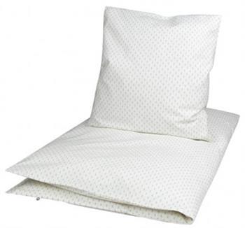 Økologisk junior sengetøj - 100x140 cm - Müsli Dot mist - Home-tex