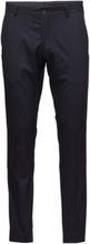 Slhslim-Mylologan Navy Trouser B Noos Kostymbyxor Formella Byxor Svart Selected Homme