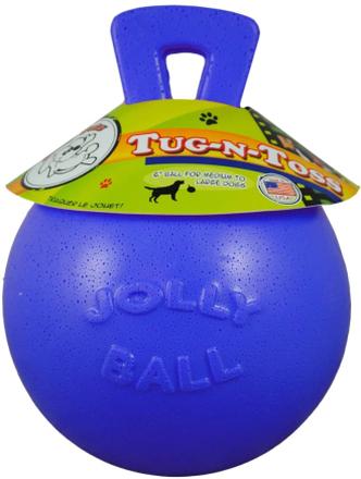 Jolly Pets Boll Tug-n-Toss 15 cm blå