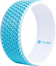 Pure2Improve Yogahjul 34 cm blå och vit