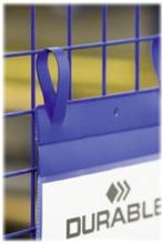 Gitterboxtasche A5 quer 50er Pck blau