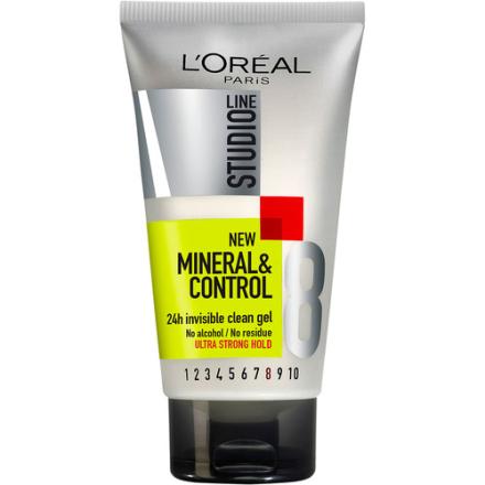 L'Oréal Paris Studio Line Mineral & Control 24h Invisible Clean Gel
