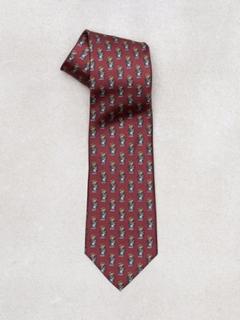 Polo Ralph Lauren Tiem Neck Tie Slips Wine