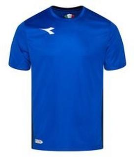 Diadora Trenings T-Skjorte Equipo - Blå/Hvit Barn