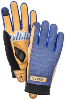 Hestra Bike Guard Long 5 Finger Gloves Navy 2018 6 Sporthandskar