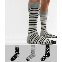 HS By Happy Socks Socks 3 Pack - Multi