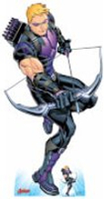 The Avengers Hawkeye Oversized Cardboard Cut Out