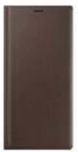 Galaxy Note 9 - Leather View Cover - Brown