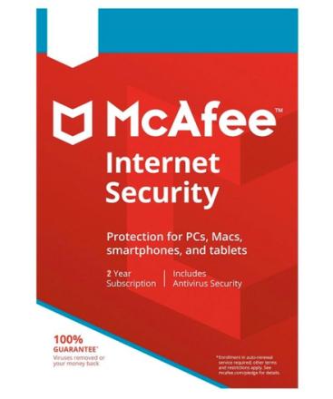 McAfee Internet Security 2018 - 1 PC / 2 år