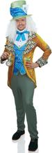Gale hattemager luksus kostume til mænd - L