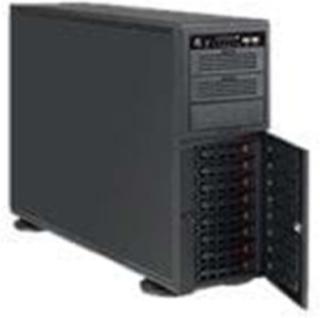 4U CHASSIS 8X3.5 3X5.25 SAS3 CBNT - Chassi - Full tower - Svart