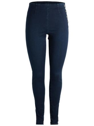 PIECES High Waist Jeans Women Blue