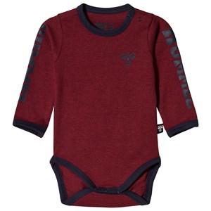 Hummel Martin Baby Body Rumba Red 92 cm (1,5-2 år) - Babyshop