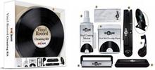 Rengöringskit för vinyl i rund plåtbox Deluxe