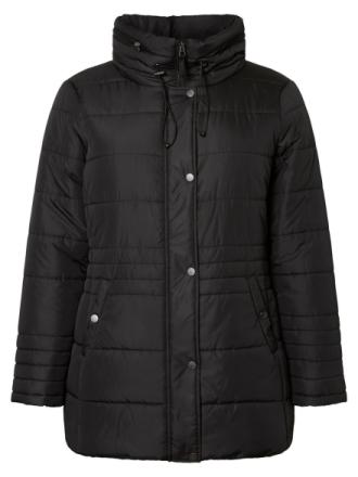 JUNAROSE Padded Jacket Women Black