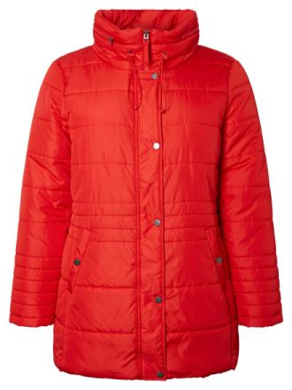 JUNAROSE Padded Jacket Women Red