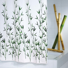 RIDDER Duschdraperi Bambus 180x200 cm