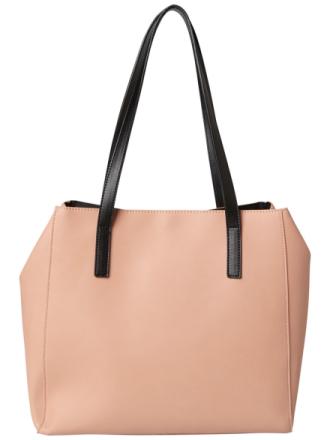 PIECES Shopper Bag Women Pink