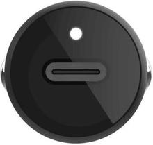 Belkin USB-C Car Charger 18W + Lightning to USB-C Cable (MFi) /F7U099bt04-BLK