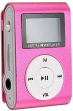 Kompakt mp3-afspiller med mikrofon, Rose