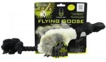 Hyper Pet Hundleksak slangbella med flygande gås