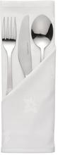 HorecaTraders Katoen Servet Wit | 45 x 45 cm (10 stuks)