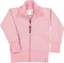 Zip-tröja Classic Rosa Randigt