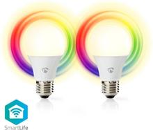 Smartlife LED E27 6W RGBW 2-pack (40W)